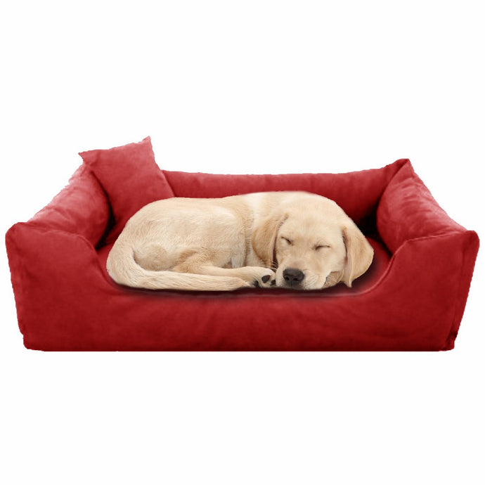 Red - Pet Royale Big Dog Bed