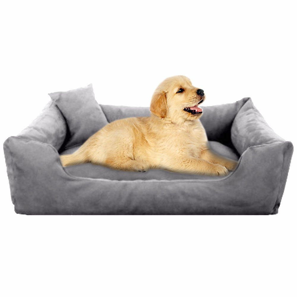 Grey - Pet Royale Small Dog Bed
