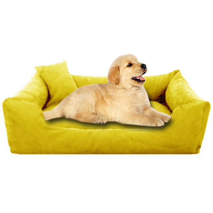 Yellow - Pet Royale Small Dog Bed