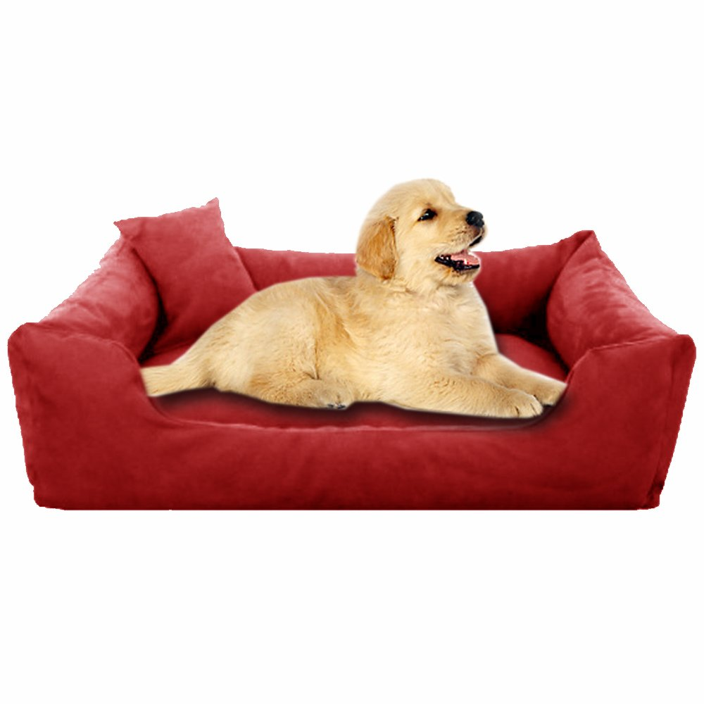Red - Pet Royale Small Dog Bed