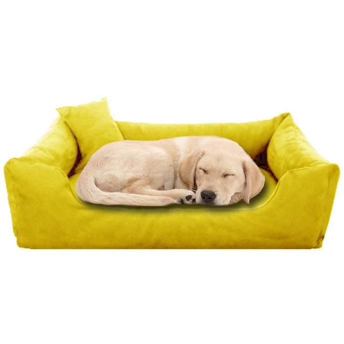 Yellow - Pet Royale Big Dog Bed