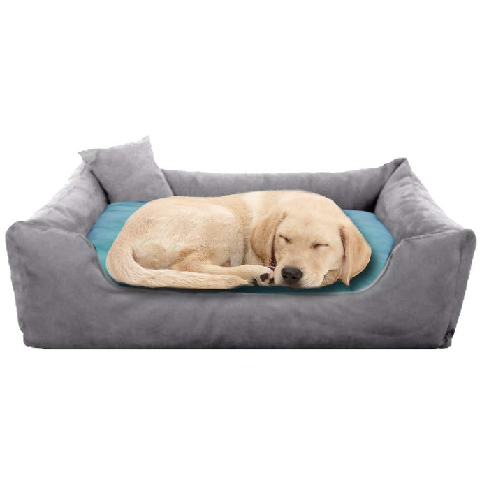 GreyBlue - Pet Royale Big Dog Bed