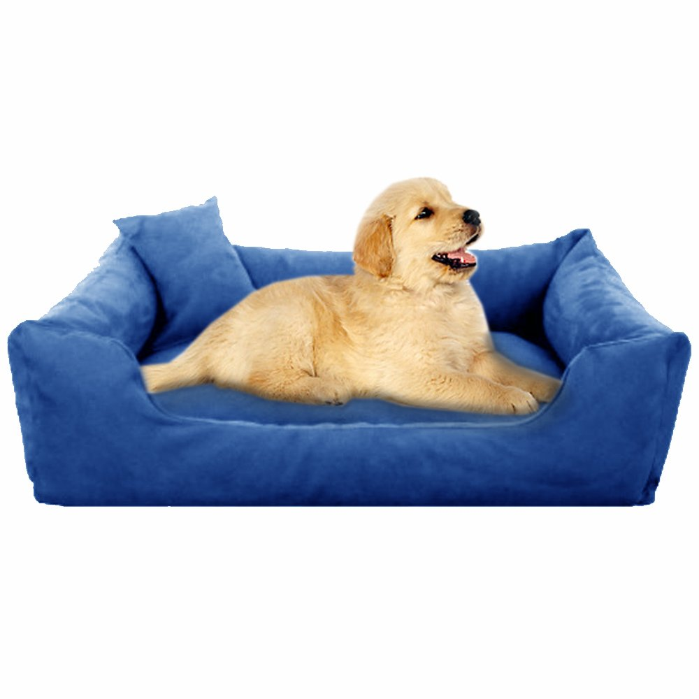 Blue - Pet Royale Small Dog Bed