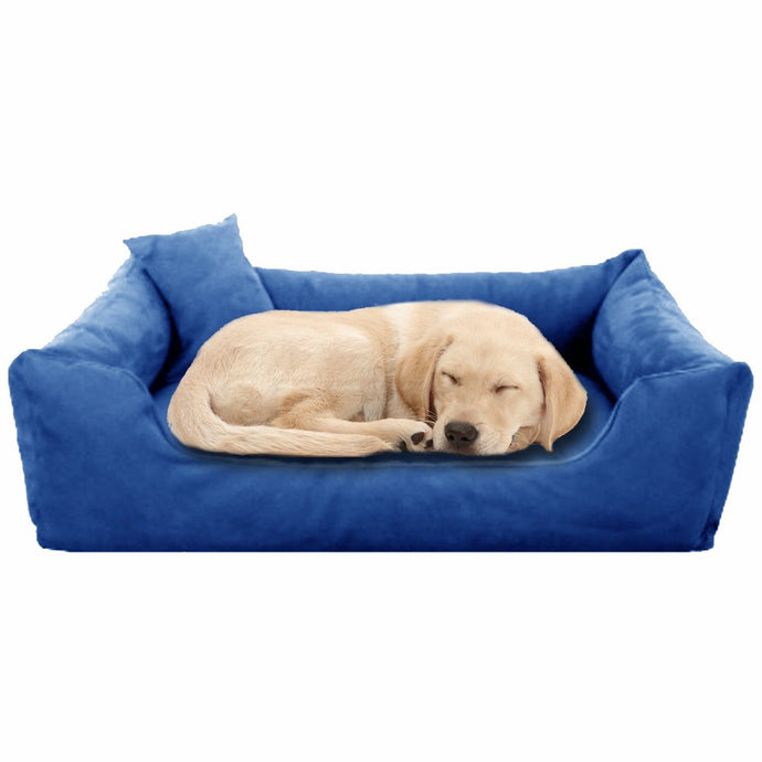 Blue - Pet Royale Big Dog Bed
