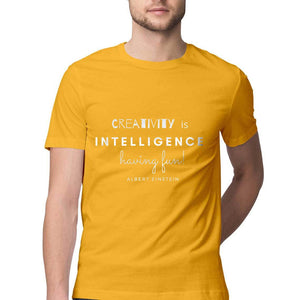 Creativity is Intelligence - Cool Mens Tee