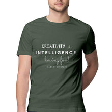 Load image into Gallery viewer, Creativity is Intelligence - Cool Mens Tee