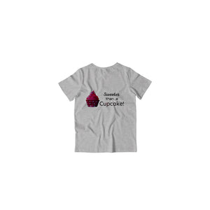 Sweeter than a cupcake - Kids Tshirts
