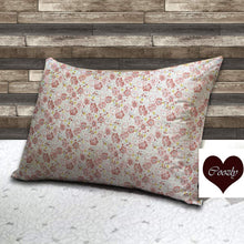 Load image into Gallery viewer, Peach Flora -Coozly Head Pillows - 20 X 36 In