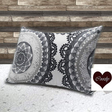 Load image into Gallery viewer, Cosmic -Coozly Head Pillows - 20 X 36 In