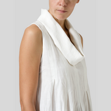 Load image into Gallery viewer, Cowl Neck Dress with pleats
