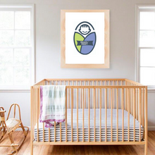 Load image into Gallery viewer, Kradyl Kroft Classic Crib -Naturo