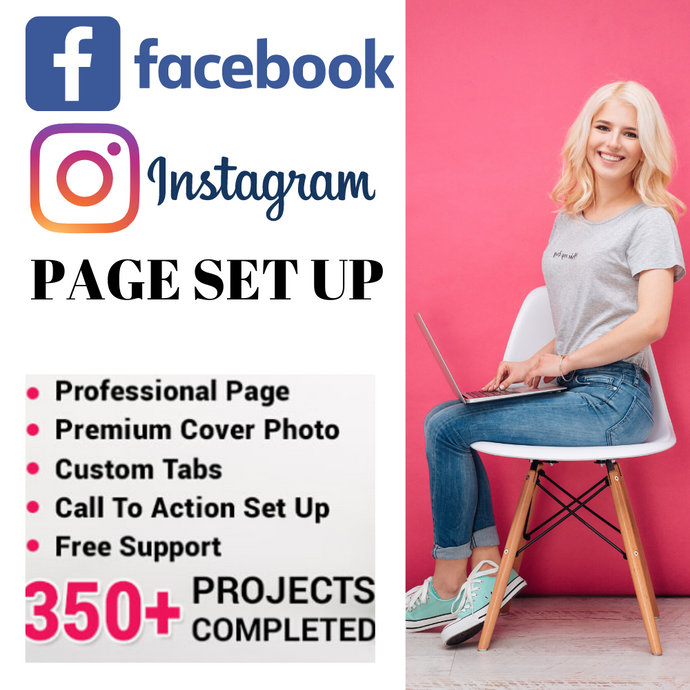 GET a Professional Facebook & Instagram Page Set Up