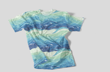 Load image into Gallery viewer, Kids Tee - 100% Cotton Waves