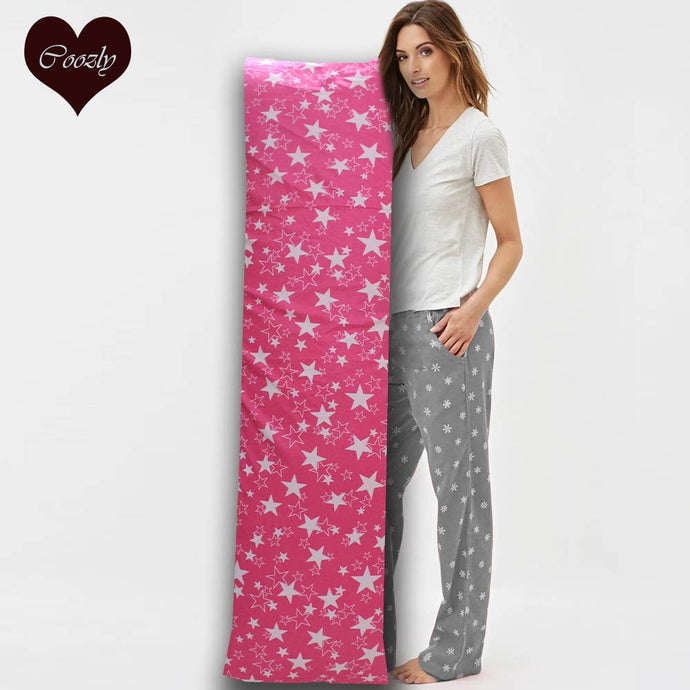 Pink Star - Coozly Lumbar Pillow