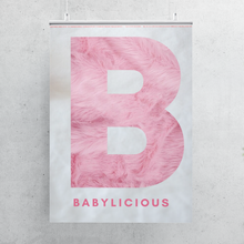 Load image into Gallery viewer, Framed A3 Poster - Babylicious