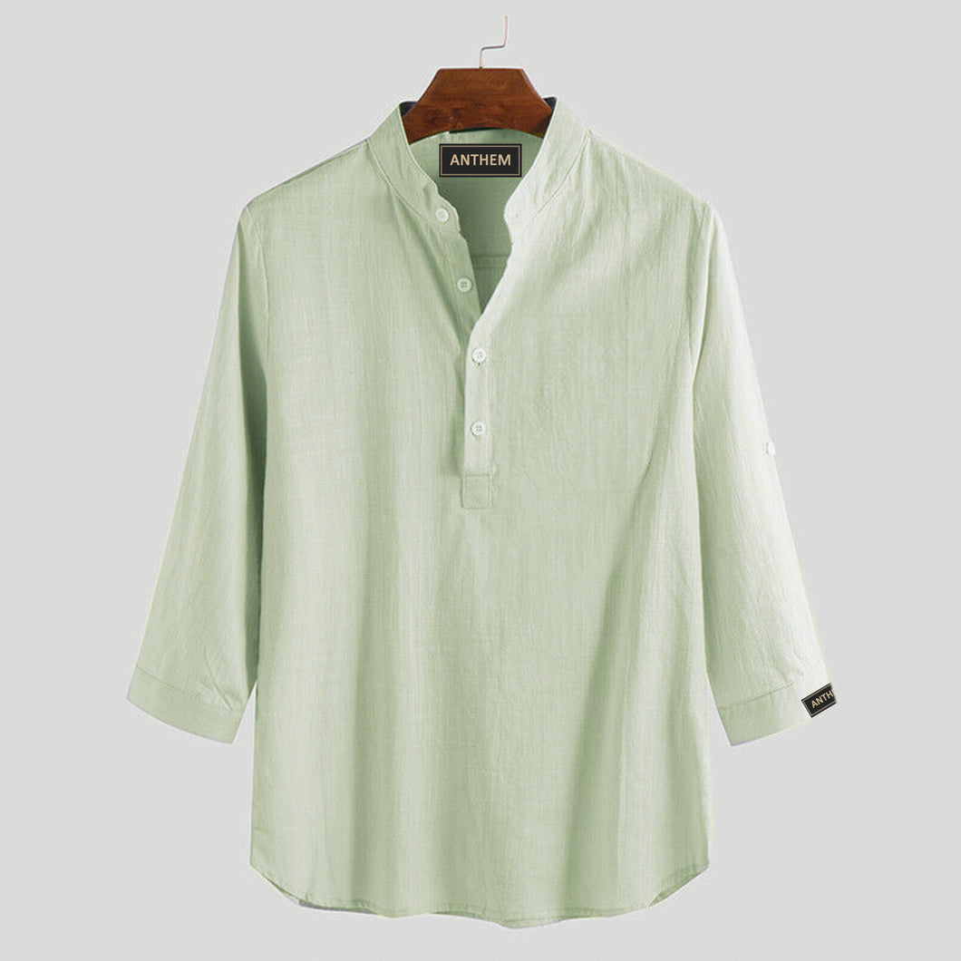 Lime Green Cotton Eliza Style Top for Women by Anthem