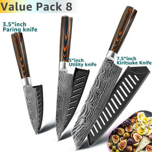 Chef Knives Set Japanese