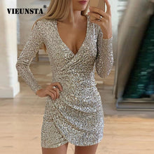Load image into Gallery viewer, Glitter Dress for women
