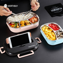Load image into Gallery viewer, Japanese Kids Lunch Box Stainless steel