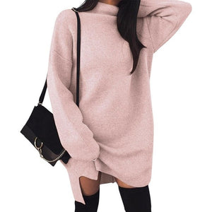 Long Sleeved Warm Dress