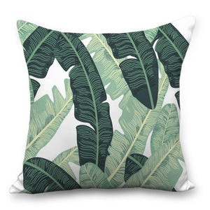 Cushion Cover - 45*45 Cms Tropical Rainforest Design