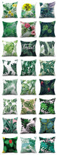 Load image into Gallery viewer, Cushion Cover - 45*45 cms Tropical Rainforest Design