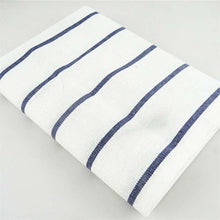 Load image into Gallery viewer, DeZuma Blue Striped Kitchen Napkin - Blue Thin Stripes