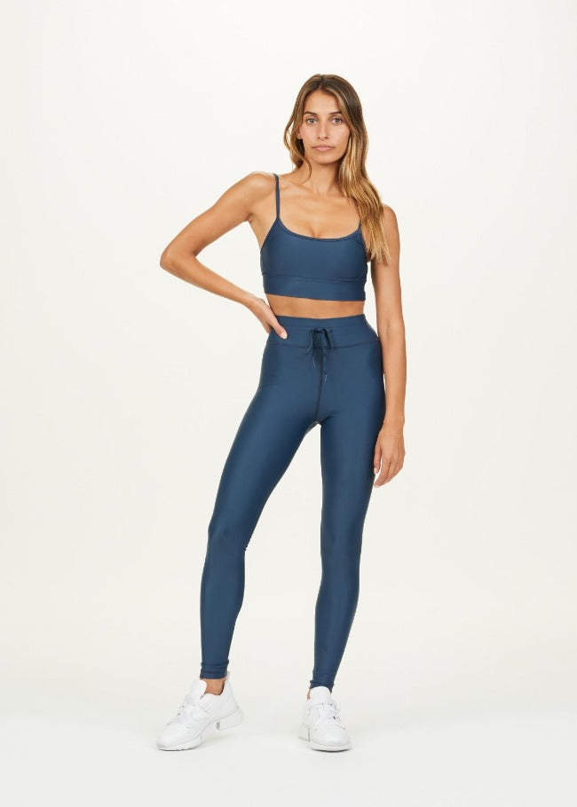 The Upside Solid Yoga Pant - Jewel Blue