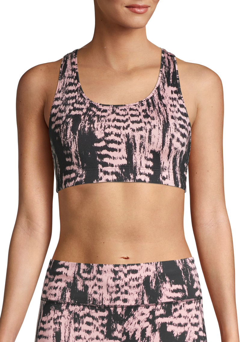 Casall Iconic Sports Bra - Survive Pink