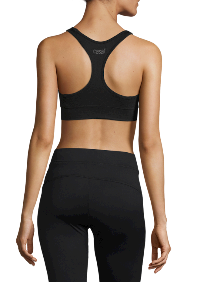 Casall Soft Sports Bra - Black