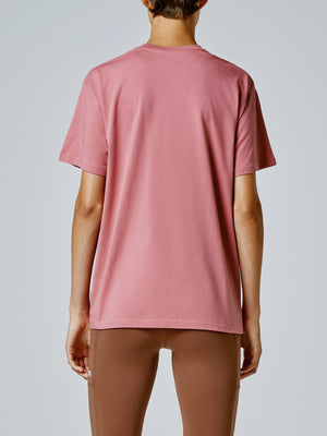 Running Bare Hollywood 90's Tee - Blush