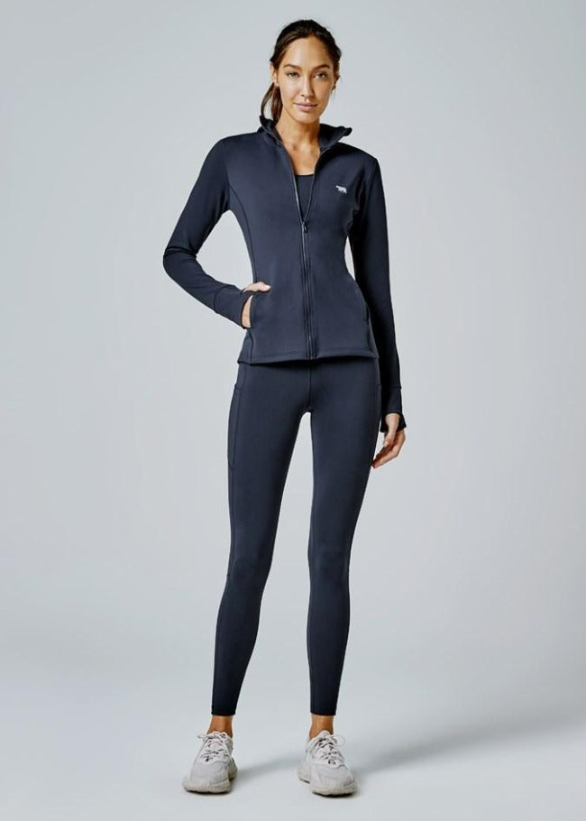 Running Bare Thermal Flex Zone Full Length Tight - Crew