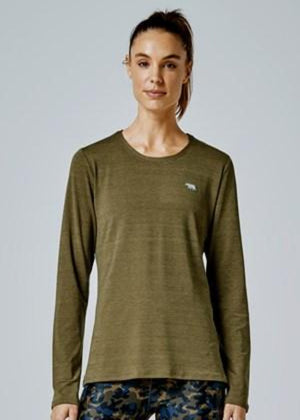 Running Bare Long Sleeve - Camping