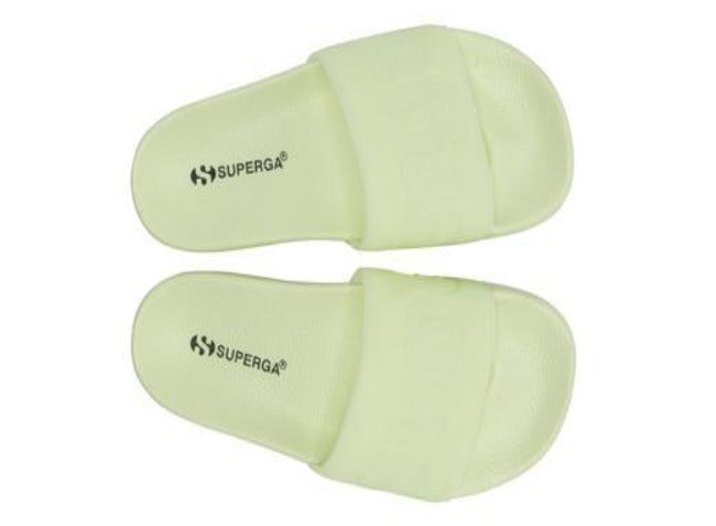 Superga Slide - Total Green