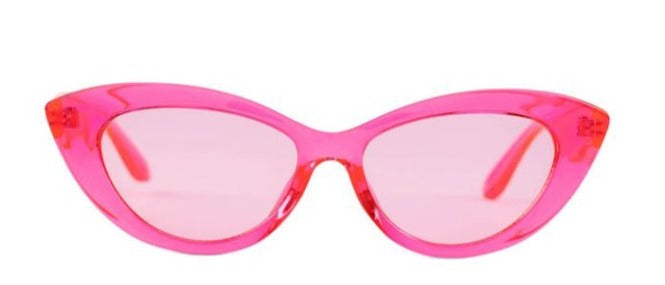 Reality Sunglasses -Byrdland - Neon Pink