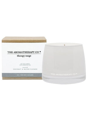 Candle UNWIND 260g Coconut and Water Flower