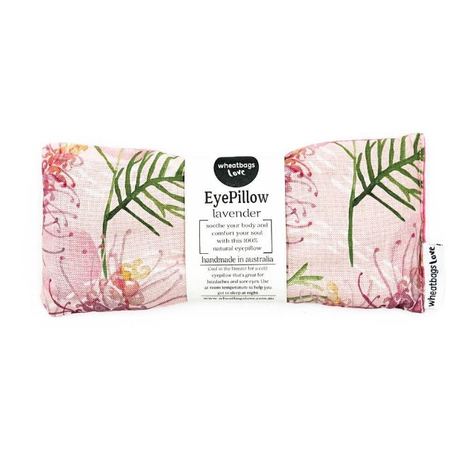 Wheat Bags Love - Eye Pillow - Grevillea