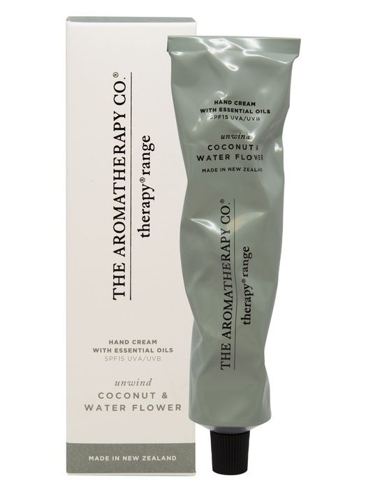 Hand Cream SPF15 75ml UNWIND Coconut and Water Flower