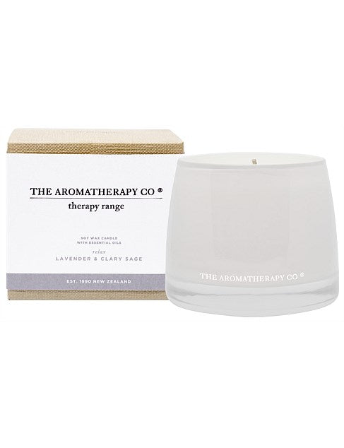 Therapy Candle RelaxLavender & Clary Sage