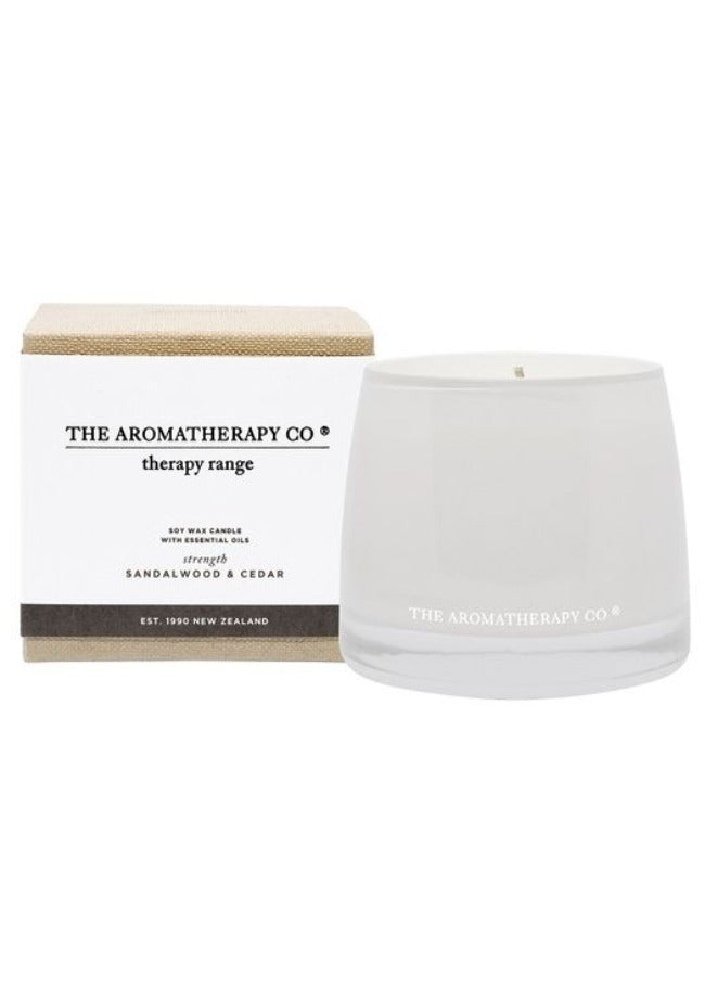 Therapy Candle Relax Sandalwood and Cedar