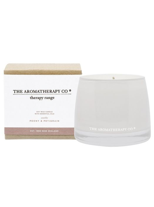 Therapy Candle Soothe Peony & Petigrain