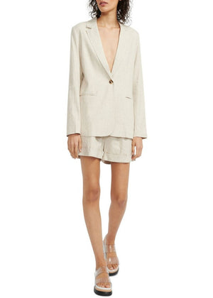 Staple The Label Anouk Blazer - Natural
