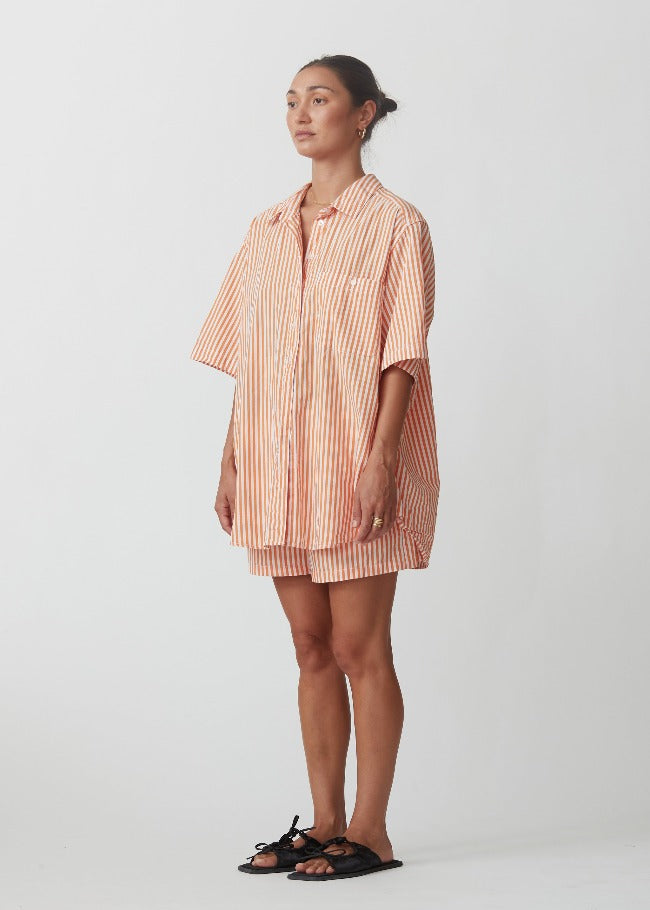 Blanca Bobby Shirt - Orange