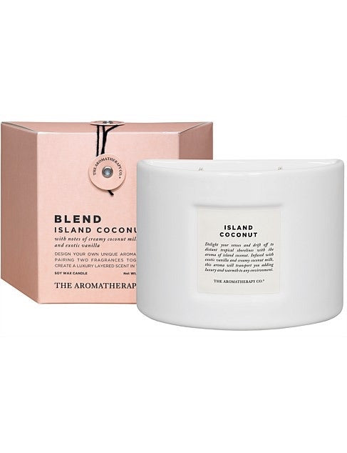 Blend Candle 280g Island Coconut