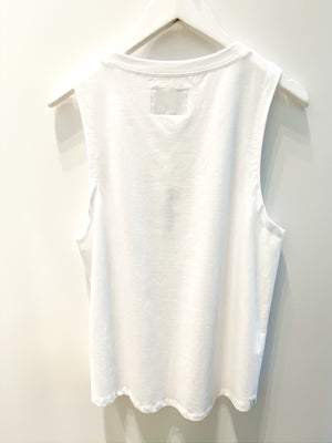 Liv Actve Luxe Muscle Tank - White