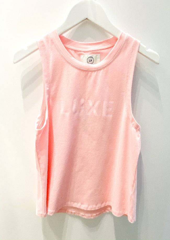 Liv Actve Luxe Muscle Tank - Pink