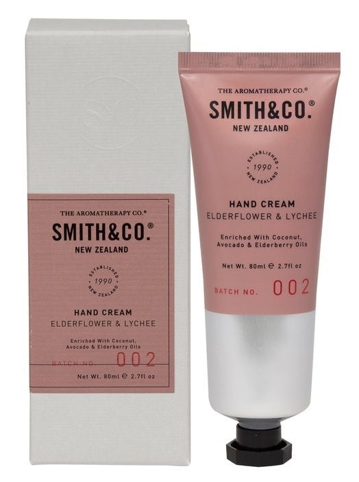 Smith & Co 80ml Hand cream Elderflower & Lychee