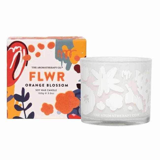 FLWR Candle - Orange Blossom