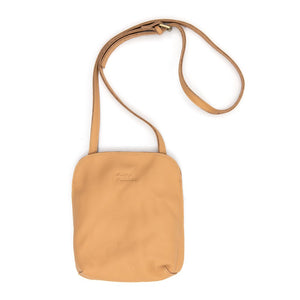 Adventurer Leather Bag - Nude