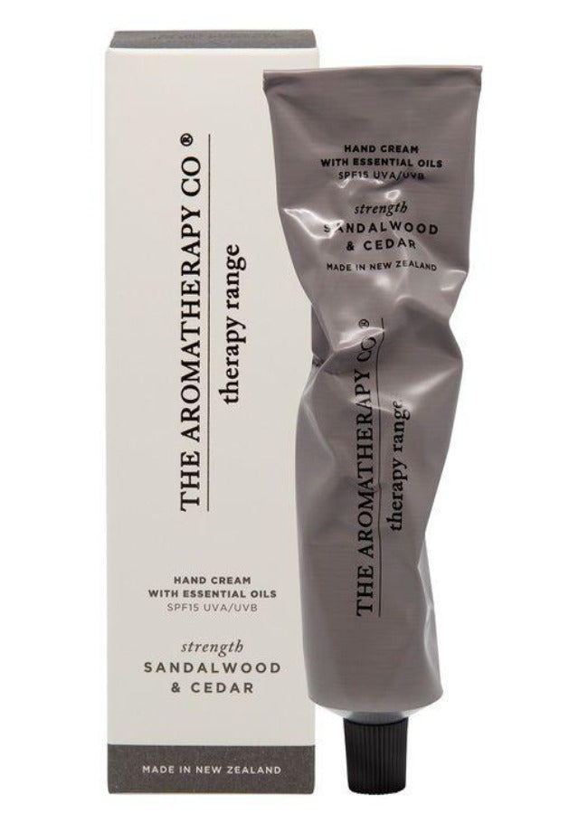 Hand Cream SPF15 75ml - Strength - Sandalwood & Cedar